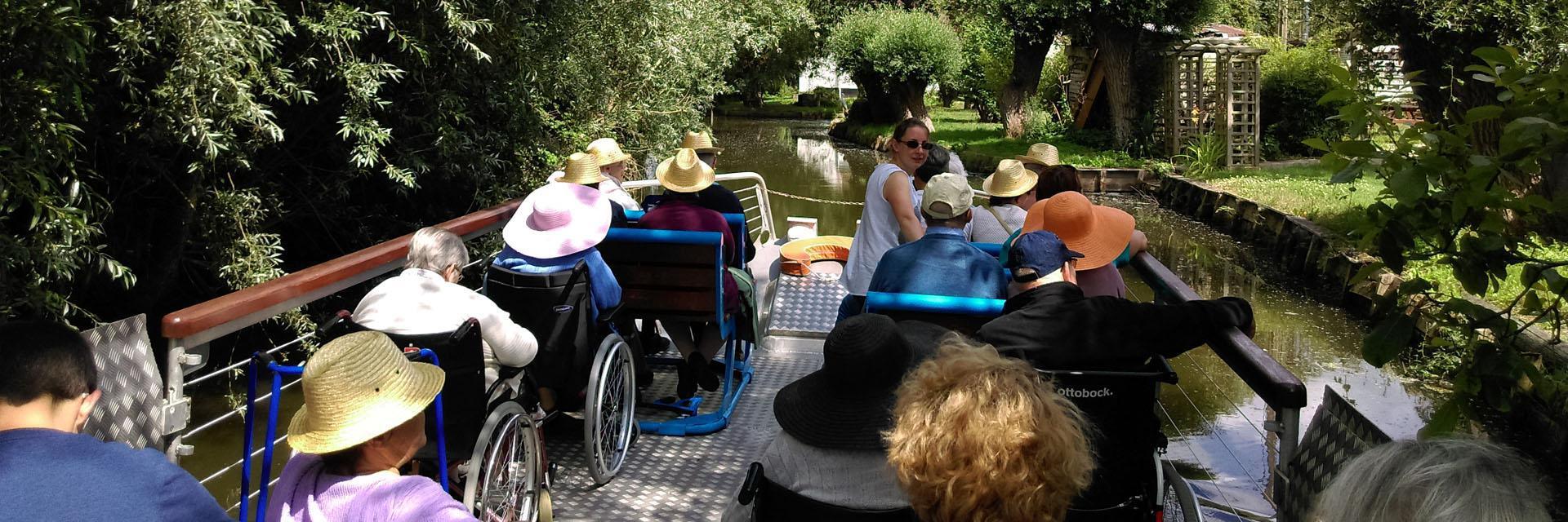 """Accessibilité """"Tourisme et Handicap"""", Séniors, Ehpad."""